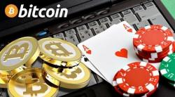 bitcoin cards chips laptop